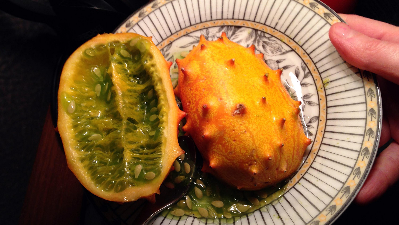 Kiwano meliono vaisius