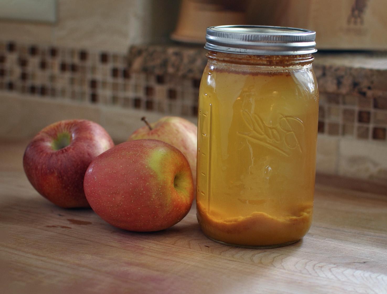 Obuolių acto gamyba namuose